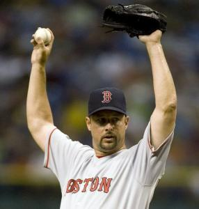 It's up, it's good for Tim Wakefield, who allowed the Devil Rays one run and six hits in six innings to earn his 12th victory.