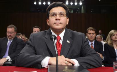Members of the Senate Intelligence Committee called testimony by Attorney General Alberto R. Gonzales deceptive.