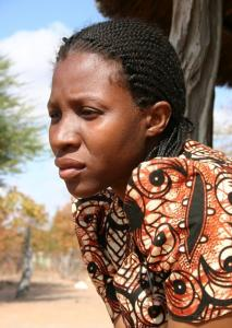Chandapiwa Mavundu, 28, has HIV and didn't breast-feed her son because nurses warned her not to. He died at 8 months.