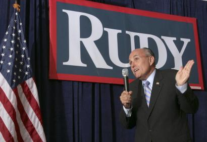 Speaking yesterday in Rochester, N.H., Rudy Giuliani described his healthcare proposal, which features a $15,000 tax deduction for families to buy private insurance.