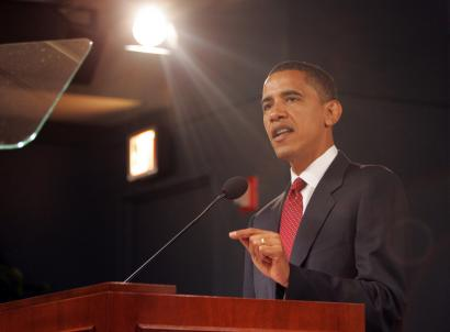 In a foreign policy speech in Washington yesterday, Senator Barack Obama said the United States must be prepared to strike unilaterally against terrorist sanctuaries in Pakistan.