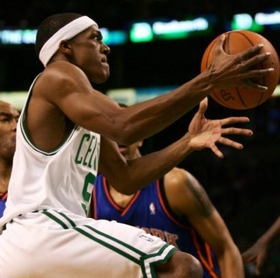 Rajon Rondo has been working hard all summer to curb his impulse to drive to the basket.