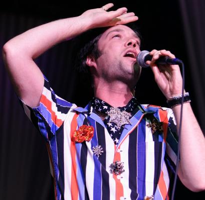 Rufus Wainwright says it was a great honor performing on the True Colors tour (above, in Boston).