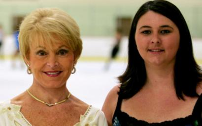 Julie Graham (left) and Danielle Hardiman are coordinating An Evening for Iveta.