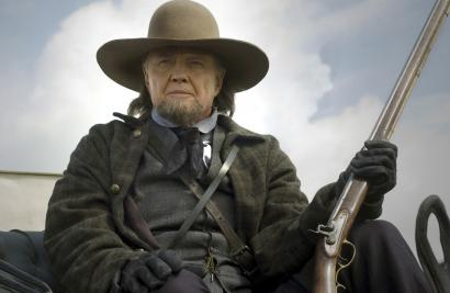 Jon Voight plays a Mormon leader in 'September Dawn,' a fictionalized account of a massacre of settlers heading west in 1857.