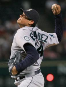 Seattle righthander Felix Hernandez silenced the Rangers to improve to 4-0 over his last six starts.