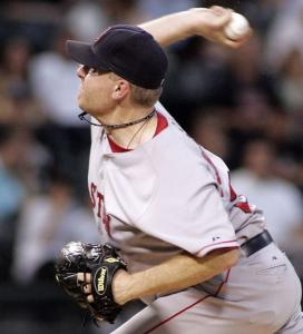 An early White Sox homer was of little concern to Curt Schilling, who cruised to his eighth win with plenty of support.