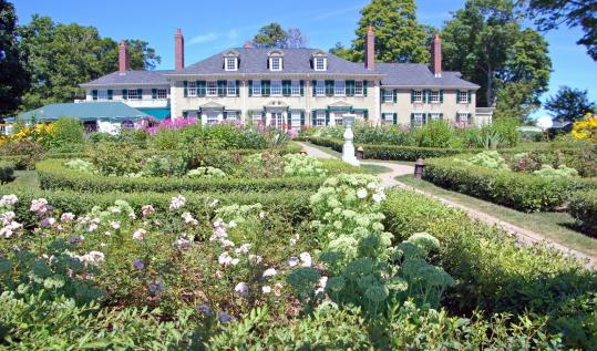 Manchester Village Vermont East Front Of Robert Todd Lincoln S 1905 Geian Revival Summer Home