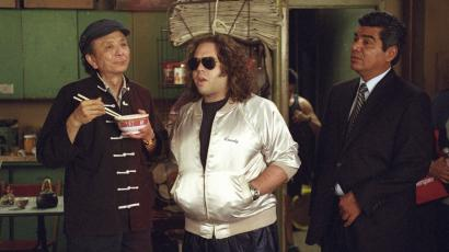 From left: James Hong plays a blind table-tennis grandmaster, Dan Fogler a onetime Ping-Pong prodigy, and George Lopez an FBI agent in director Robert Ben Garant's comedy 'Balls of Fury.'