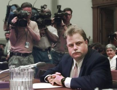 Richard Jewell testified before a US House subcommittee hearing on the 1996 Olympic attack.