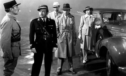 The original negative of ``Casablanca' is in a former Federal Reserve facility that holds the world's biggest audiovisual collection.