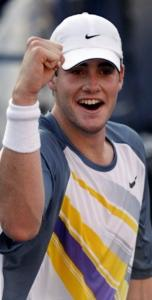 Ex-Georgia star John Isner has punched out two opponents so far.