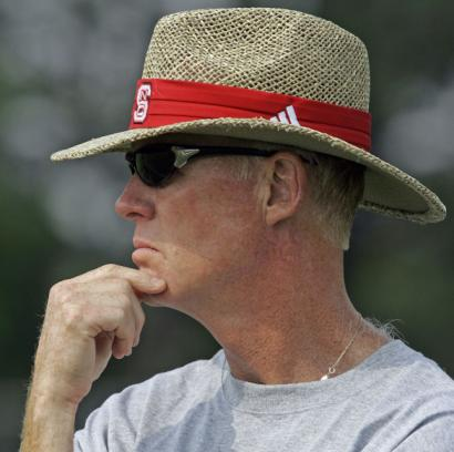 On Saturday afternoon, BC fans will get their first look at coach Tom O'Brien since he changed hats.