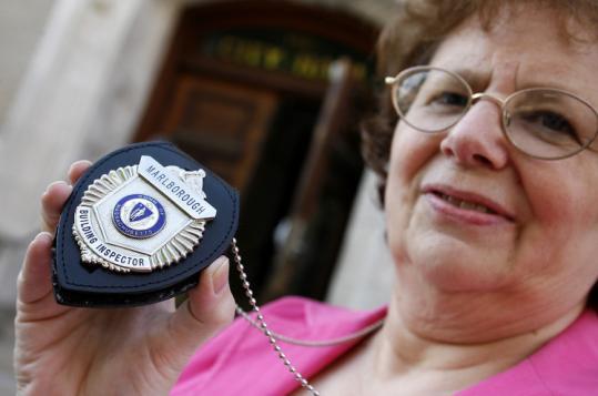 Code inspector Pam Wilderman.