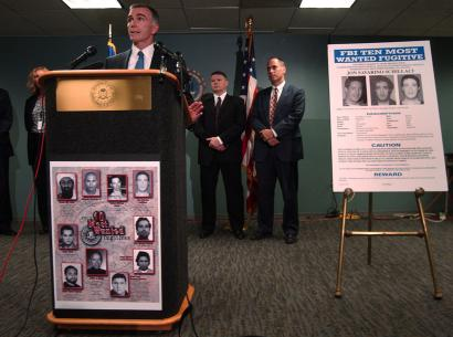 Warren T. Bamford, the special agent in charge of the Boston office, spoke yesterday during a news conference to announce the addition of Jon Savarino Schillaci to the FBI's 10 Most Wanted list. 'By putting him on the Top 10 it does bring notoriety to his particular crime,' said Bamford.