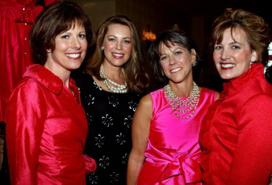 From left: Kelley Tuthill, Dr. Carolyn Kaelin, Sara Campbell, and Dr. Julie Silver.