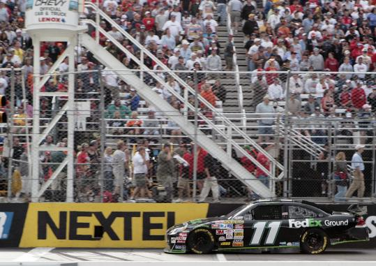 New Hampshire International Speedway hosts two Nextel Cup Series races a year, which included the Lenox Industrial Tools 300 in July.
