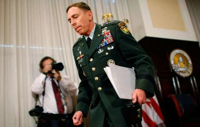 General David Petraeus, shown in Washington yesterday, said the political clock in Washington is ticking significantly faster than the pace of his counterinsurgency strategy in Iraq.