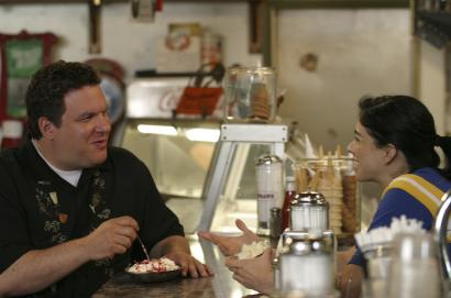 Jeff Garlin (above with Sarah Silverman) wrote, directed, and stars in an observant comedy about a lonely Chicago actor.