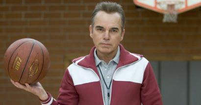Billy Bob Thornton plays the title role, a sadistic gym teacher.