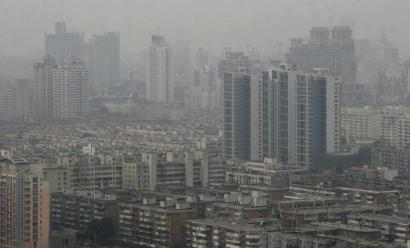 Haze clouded the skyline of Tianjin, China. The Blacksmith Institute, an environmental group based in New York, has added Tianjin and two cities in India and one in Azerbaijan to its list of the 10 most polluted places in the world.