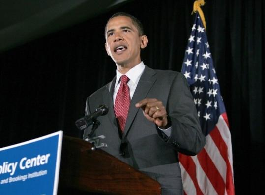 Senator Barack Obama's proposal calls for shifting more of the tax burden off the middle class and onto the wealthy.