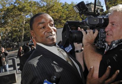 New York Knicks president and coach Isiah Thomas is at the center of a $10 million sexual harassment lawsuit.