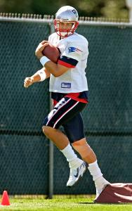 Tom Brady has stepped to the fore among NFL quarterbacks with his performance in the first two games of the season.