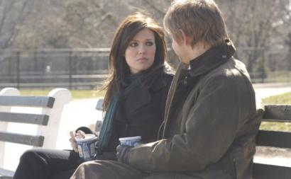 Mandy Moore and Martin Freeman star in 'Dedication.'