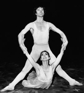 Rudolf Nureyev (rehearsing with Margot Fonteyn in 1964) was featured last month in 'Nureyev: The Russian Years,' a rare recent example of TV programming about ballet or modern dance.