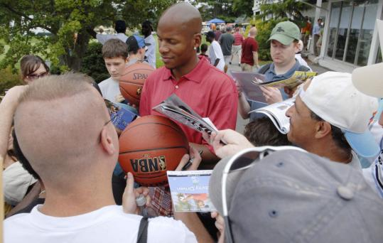 Ray Allen wonders if fans have seen him play, but they have had a chance to see him as a Celtic.