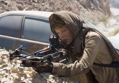 Milla Jovovich stars in 'Resident Evil: Extinction,' the third installment of the popular franchise.