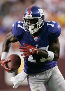 Plaxico Burress's big second half for the Giants included this go-ahead TD catch in the fourth quarter.