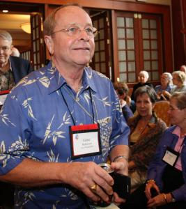 The first openly gay Episcopal bishop, Gene Robinson of New Hampshire, attended the meeting of US bishops in New Orleans. 'No one's vision won,' he said after yesterday's vote.