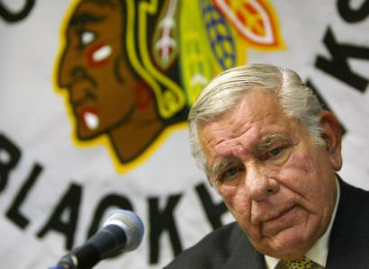 William W. Wirtz served as president of the Chicago Blackhawks hockey team for 41 years.