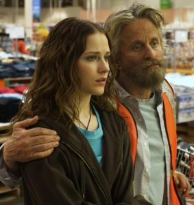 Evan Rachel Wood stars as the daughter to her Quixote-like father, played by Michael Douglas, in 'King of California.'