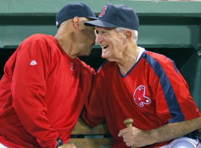 Terry Francona offered best wishes to Johnny Pesky on his 88th birthday, but his playoff rotation remains a secret.