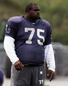 At 6 feet 2 inches, 325 pounds, body control is often out of Vince Wilfork's hands.