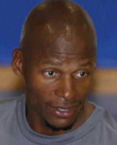 RAY ALLEN Assuming a mentor role