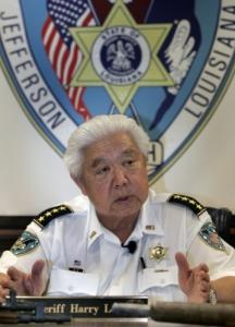 Harry Lee was sheriff of Jefferson Parish in Louisiana for seven terms.