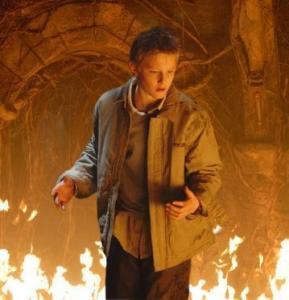Alexander Ludwig battles evil forces in 'The Seeker.'