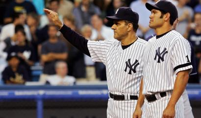 Johnny Damon stepped up and delivered as the Yankees made an effort to salvage their season and save manager Joe Torre's job. Damon collected three hits and four RBIs to boost his club.