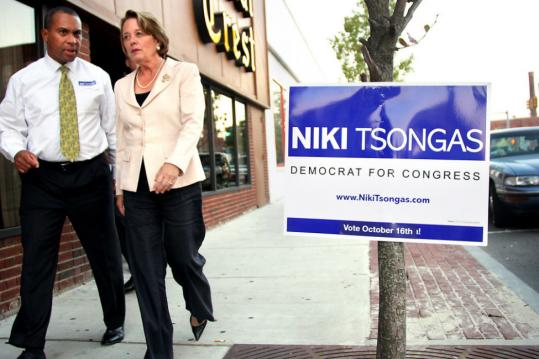Niki Tsongas is determined not to take the Fifth District contest for granted.