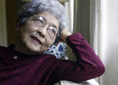 Violet Kazue de Cristoforo received honors for haikus on the desolation of Japananese-American internment camps.