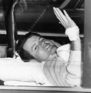 Senator Edward M. Kennedy had been injured in a plane crash in 1964.