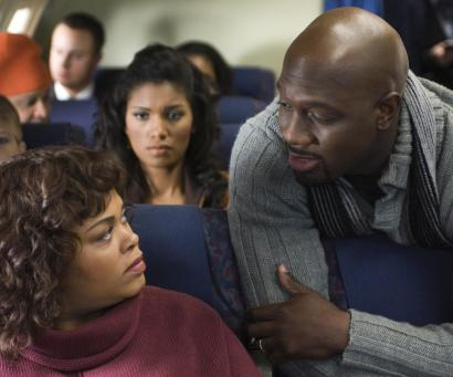 Jill Scott and Richard T. Jones in 'Tyler Perry's Why Did I Get Married?'