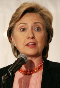 Hillary Clinton is intensifying her focus on women voters.