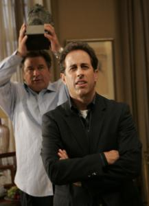 Jerry Seinfeld (right, with Alec Baldwin) is among many guest stars on '30 Rock.'