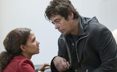 Halle Berry plays a recent widow and Benicio Del Toro a heroin addict and her late husband's best friend in 'Things We Lost in the Fire.'