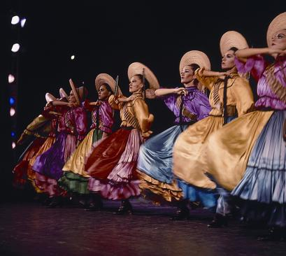 Mexico's national dance company, founded in 1952, focuses on preserving cultural traditions that date back to ancient times.